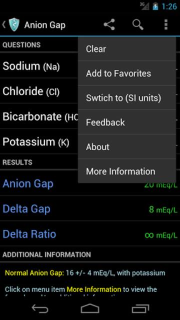 MediCalc Medical Calculator screenshot 6