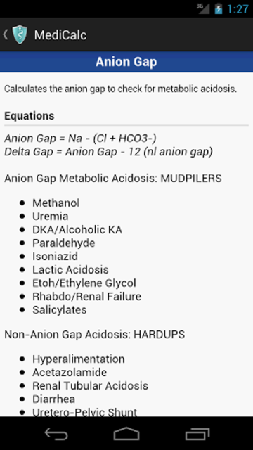 MediCalc Medical Calculator screenshot 7