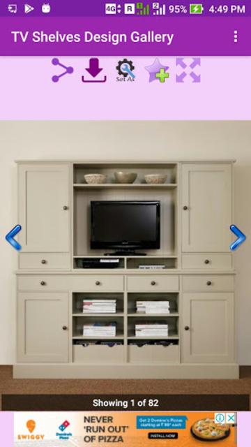 TV Shelves Design Gallery screenshot 4