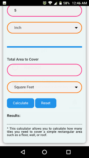 Floor & Wall Tiles Calculator screenshot 4