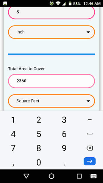 Floor & Wall Tiles Calculator screenshot 5