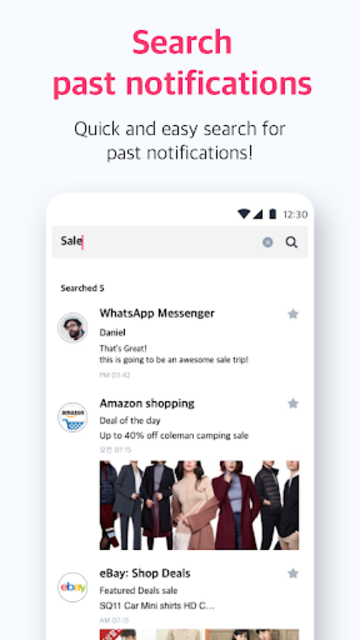 notistory - All notifications at a glance screenshot 5