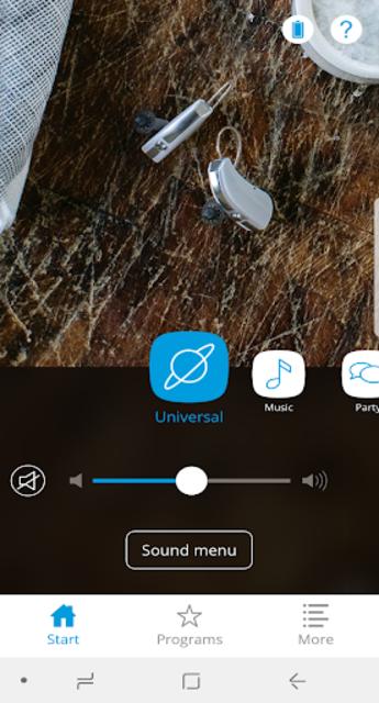 Widex BEYOND screenshot 1