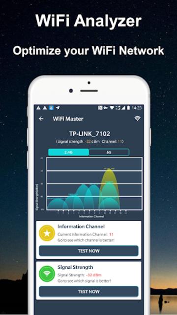 WiFi Router Master Pro(No Ads) - WiFi Analyzer screenshot 4
