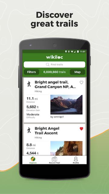 Wikiloc Outdoor Navigation GPS screenshot 1