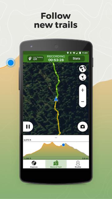 Wikiloc Outdoor Navigation GPS screenshot 3