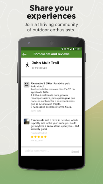 Wikiloc Outdoor Navigation GPS screenshot 6