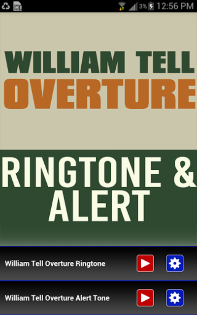 William Tell Overture Ringtone screenshot 1