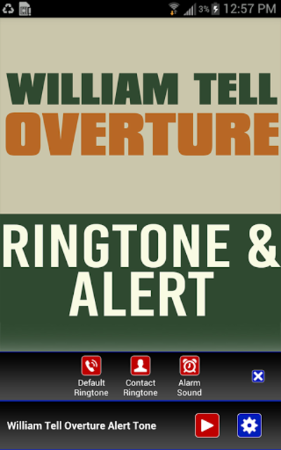 William Tell Overture Ringtone screenshot 2