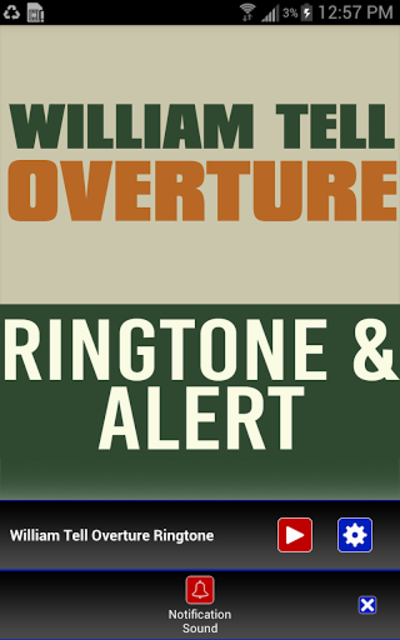 William Tell Overture Ringtone screenshot 3