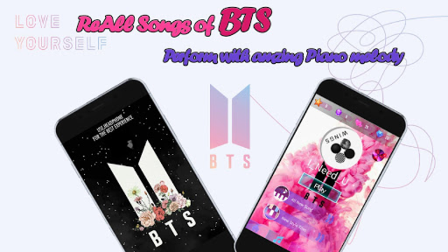 Piano Tiles BTS 2019 - ARMY Love BTS screenshot 2