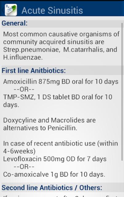 Antibiotics & Infections screenshot 5