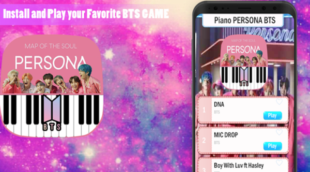 Piano BTS Game - Boy With Luv screenshot 1