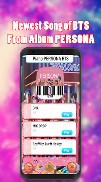 Piano BTS Game - Boy With Luv screenshot 2