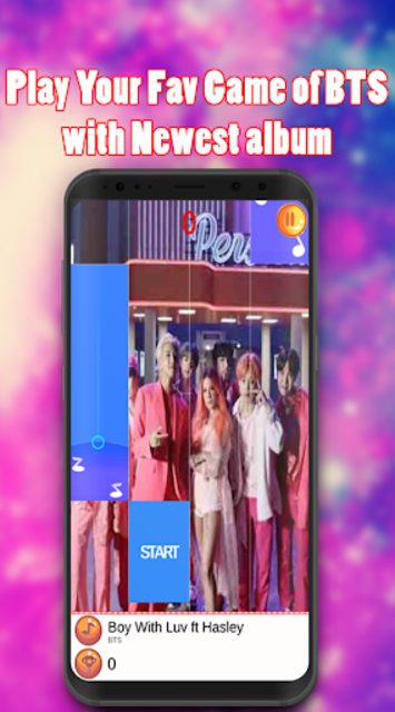Piano BTS Game - Boy With Luv screenshot 4
