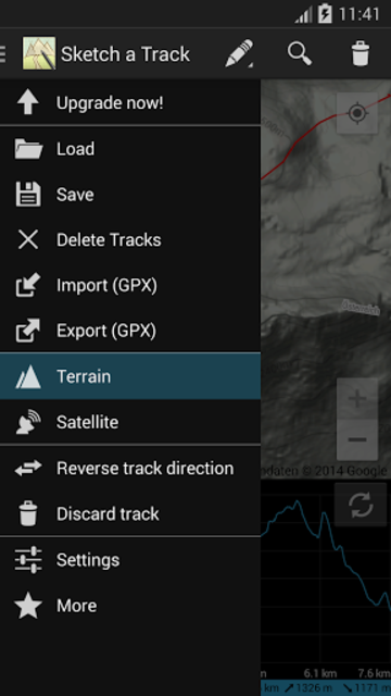 Sketch a Track - GPX Viewer screenshot 16