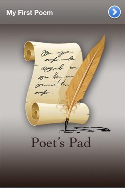 Poet's Pad™ - Creative Writing screenshot 1