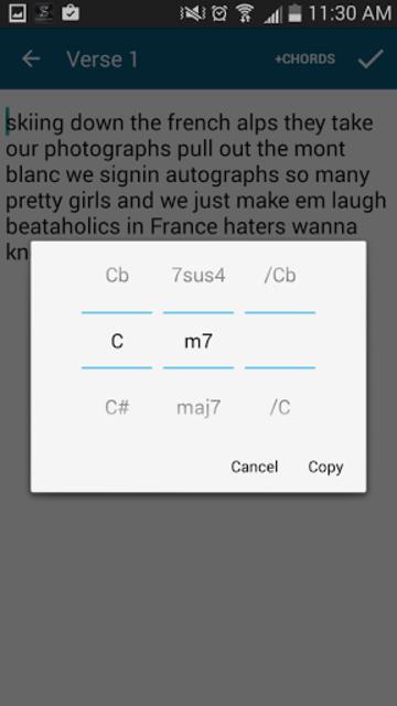 Songwriter's Pad™- Songwriting screenshot 7