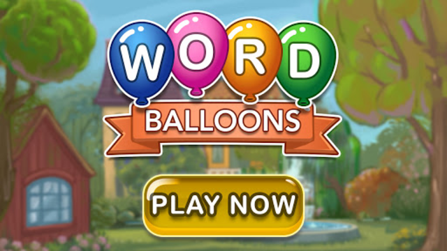 Word Balloons - Word Games free for Adults screenshot 12