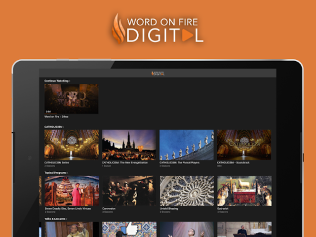Word on Fire Digital screenshot 5