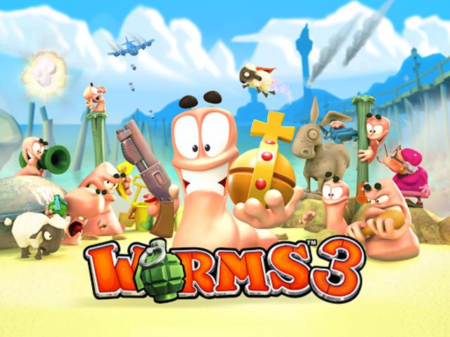 Worms 3 screenshot 6