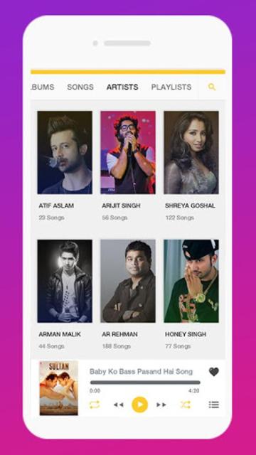 Vibes - Music UI Kit screenshot 3