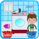 Icon for Washing and Ironing Clothes: Kids Laundry Game