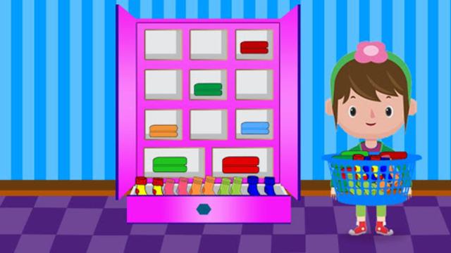 Washing and Ironing Clothes: Kids Laundry Game screenshot 14
