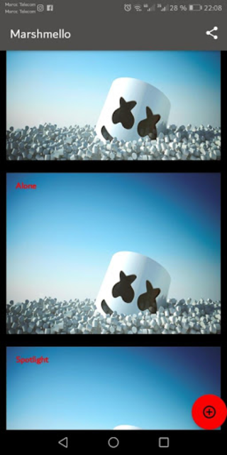 Marshmello ft. Bastille - Happier screenshot 2