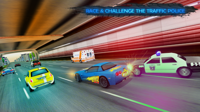 Lightning Cars Traffic Racing: No Limits screenshot 3