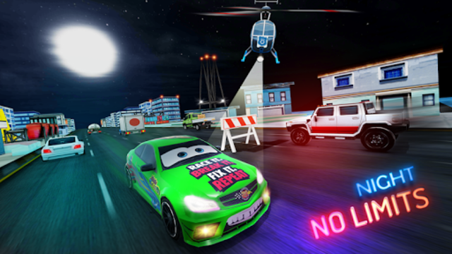 Lightning Cars Traffic Racing: No Limits screenshot 1