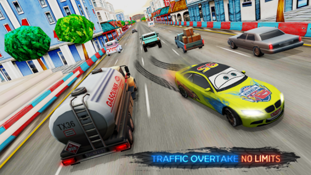 Lightning Cars Traffic Racing: No Limits screenshot 2