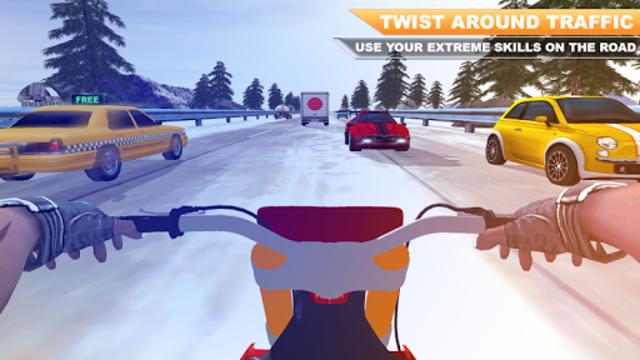 Traffic Moto Bike Racing 2018 screenshot 3