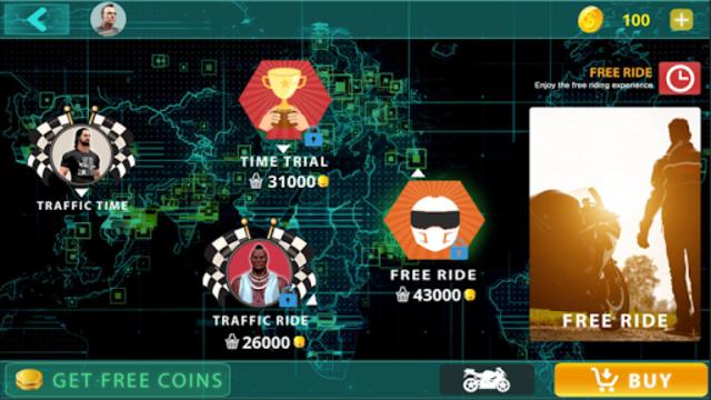 Traffic Moto Bike Racing 2018 screenshot 4