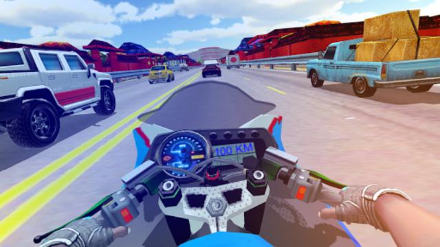 Traffic Moto Bike Racing 2018 screenshot 5