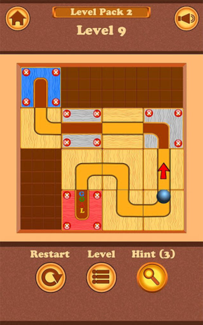 Roll the Ballz - ball puzzle screenshot 1