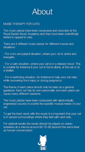 Music Therapy for Cats screenshot 2