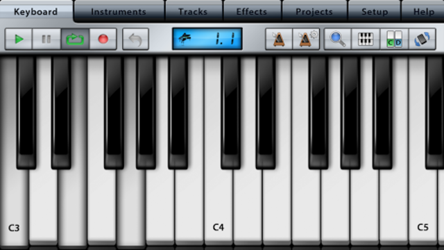 Music Studio Lite screenshot 1