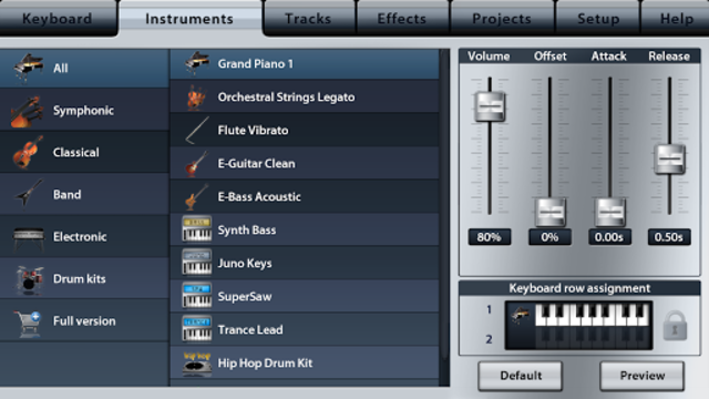 Music Studio Lite screenshot 2