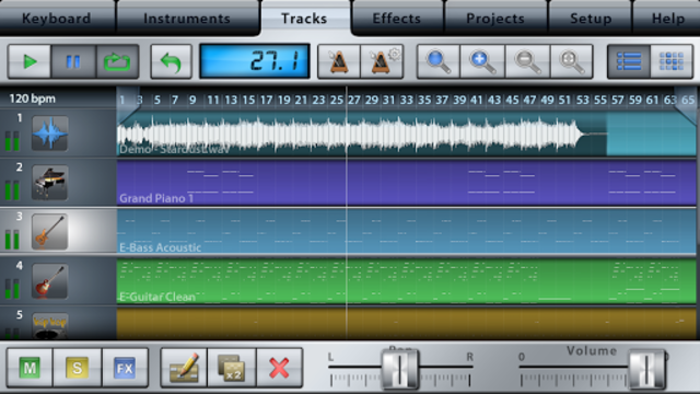 Music Studio Lite screenshot 3