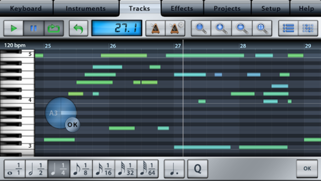 Music Studio Lite screenshot 4