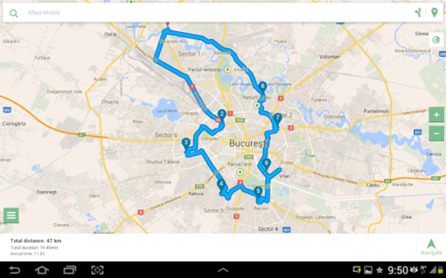 MySmartRoute Route Planner screenshot 11