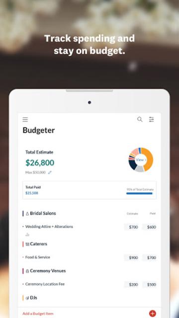 Wedding Planner - Checklist, Budget & Countdown screenshot 16