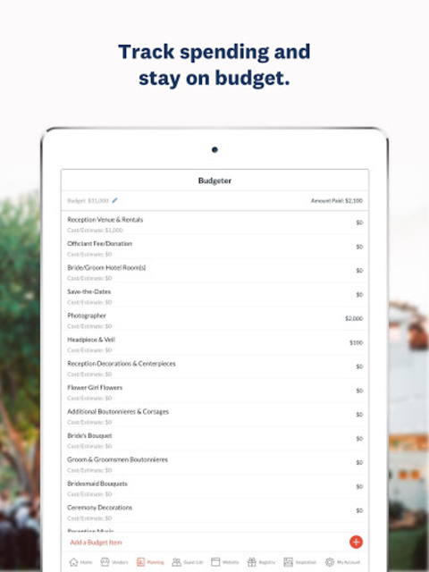 Wedding Planner - Checklist, Budget & Countdown screenshot 15