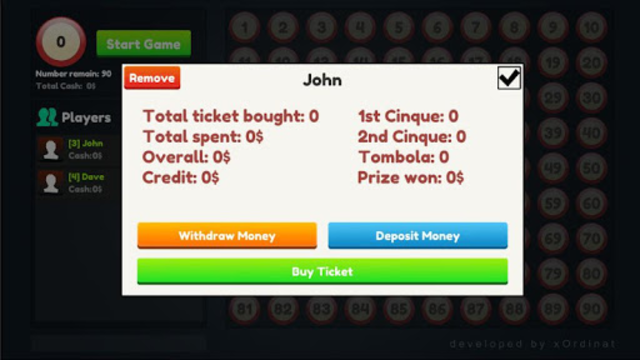 Tombola Manager - Game Tracker and Manager screenshot 2