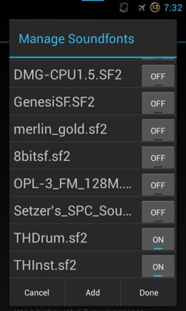 Timidity AE MIDI Player screenshot 6