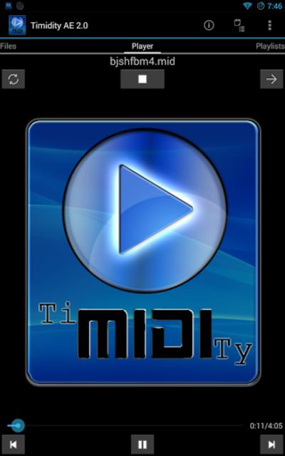 Timidity AE MIDI Player screenshot 8