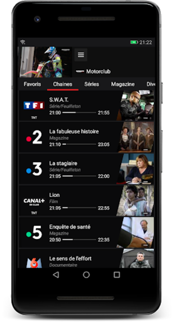 Box'n TV - Freebox Multiposte screenshot 2