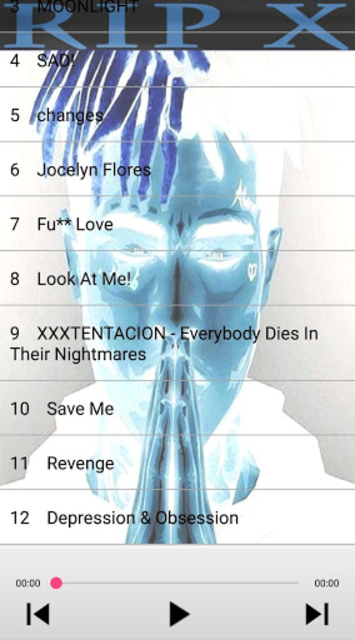 XXXTENTACION - BEST SONGS screenshot 3
