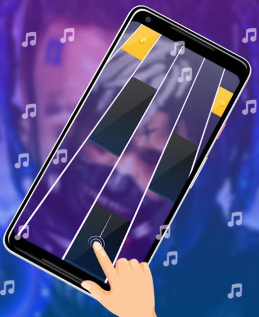 XXXTentacion Piano Tiles screenshot 1